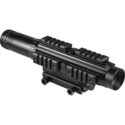 Barska 1-4x24 Multi Rail Electro Sight Riflescope (Black Matte)