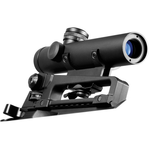 Barska 4x20 Electro Sight M16 Carry Handle Riflescope (Black Matte)
