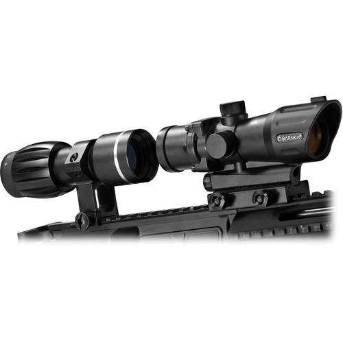 Barska AC11624 1x30mm M-16 Electro Sight with 3x30 Magnifier