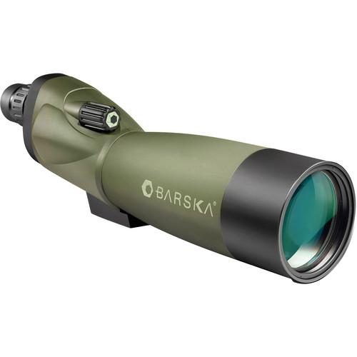 Barska 20-60x60 WP Blackhawk Spotting Scope (Straight) (Green)
