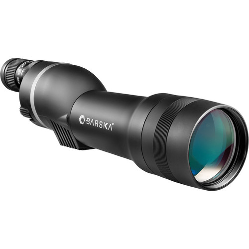 Barska 22-66x80 WP Spotter-Pro Spotting Scope (Straight Viewing, Black)