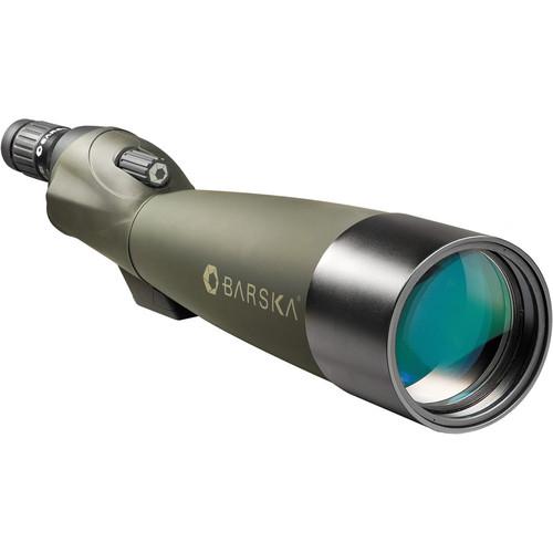 Barska 22-67x100 WP Blackhawk Spotting Scope (Straight)