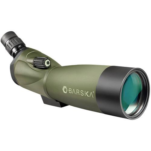 Barska 20-60x60 WP Blackhawk Spotting Scope (Angled) (Green)