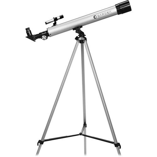 Barska 450 Power, 60050 Starwatcher Refractor Telescope (Silver)