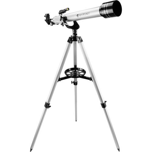 Barska 600 Starwatcher Refractor Telescope (Metallic Silver)