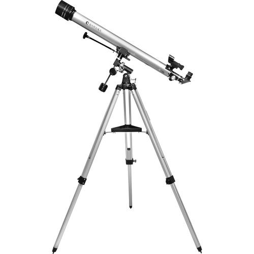 Barska 675 Starwatcher Refractor Telescope (Metallic Silver)