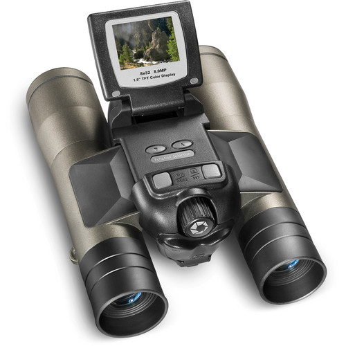 Barska 8x32mm Point 'n View 8MP Camera Binocular