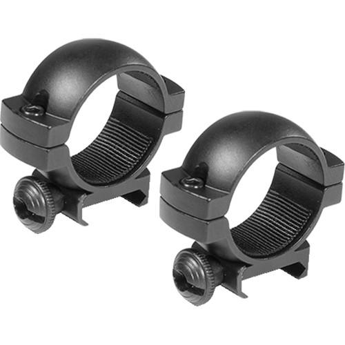 "Barska 1"" Low Weaver Style Riflescope Rings  (Matte)"