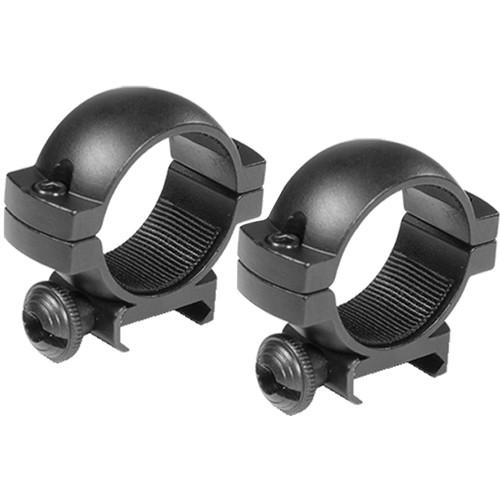 Barska Weaver-Style Rings (30mm, Aluminum, Low, Matte Black)