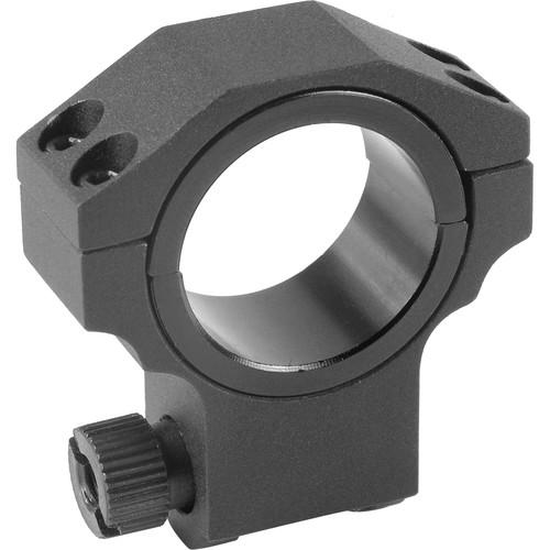 Barska Ruger-Style Riflescope Ring (30mm, Aluminum, High, Matte Black)