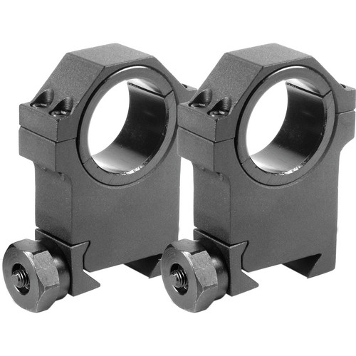 Barska 30mm X-High Weaver Style Riflescope Rings  (Matte)