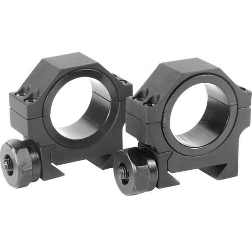 Barska 30mm Low Weaver Style Riflescope Rings  (Matte)