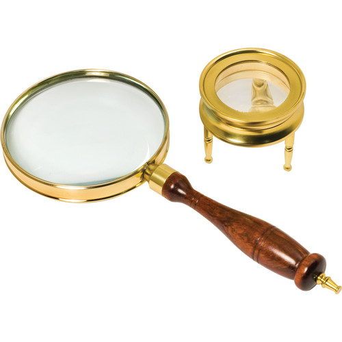 Barska AR10858 Brass 3x Power Magnifier Set