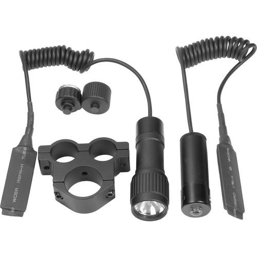 Barska Tactical Red Laser Sight with Flashlight