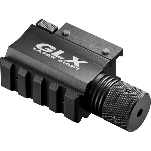 Barska GLX Red Laser with Built-In Mount and Rail