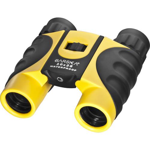 Barska 10x25 Colorado Waterproof Binocular (Yellow)