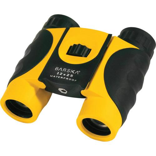 Barska 12x25 Colorado Waterproof Binoculars (Yellow)