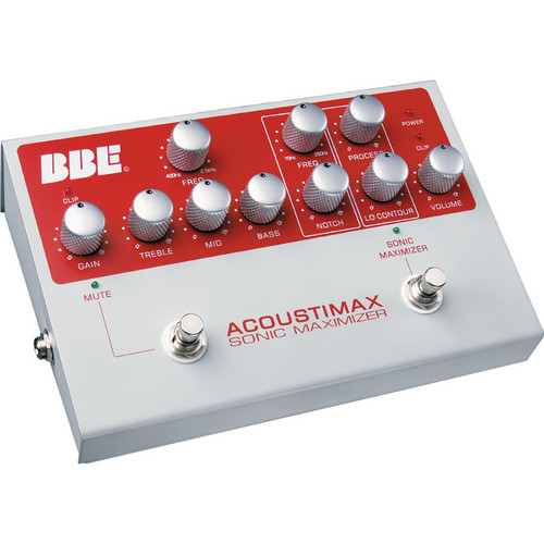 BBE Sound Acoustimax Foot Pedal Preamplifier