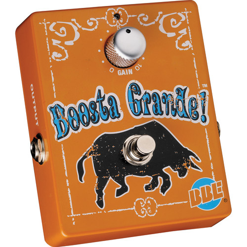 BBE Sound Boosta Grande Clean Gain Boost Pedal