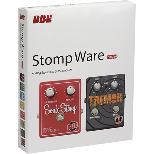 Bbe Sound Stomp Ware Plug In Suite Stomp Ware B Amp H Photo