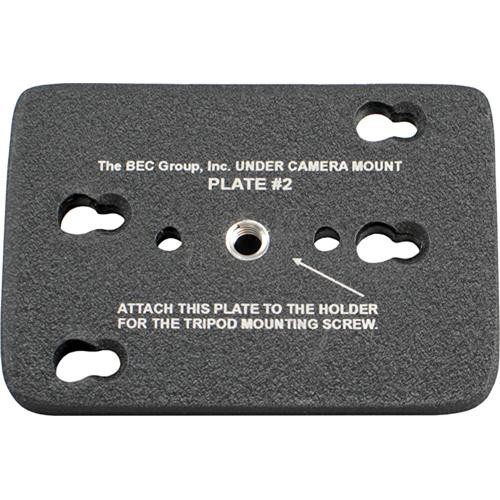 BEC Tripod Bottom Plate for Under Camera Placement