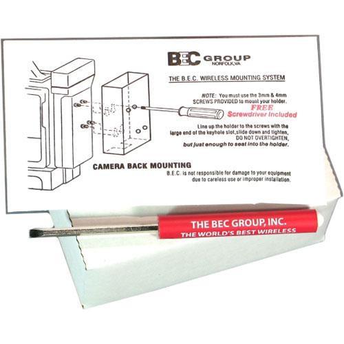 BEC Set of Screws and Screwdrivers for BEC Camera Mounts & Brackets
