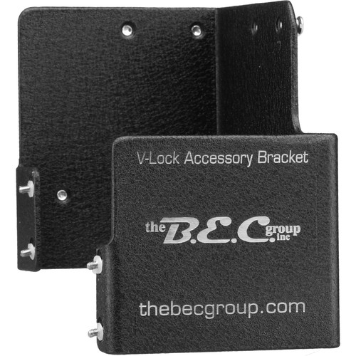 BEC VLAB-SY Accessory Bracket for Sony Cameras - with V-Lock Device for Lithium Ion Battery Systems, Allows Mounting of Wireless Receiver Box with Largest Sony Battery