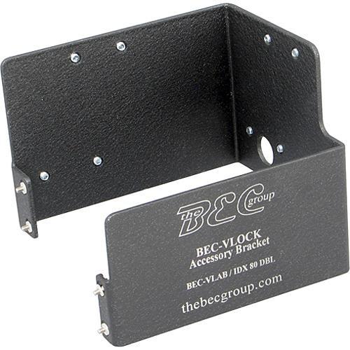 BEC VLock Bracket Double IDX Battery Mount for Sony VLock Cameras