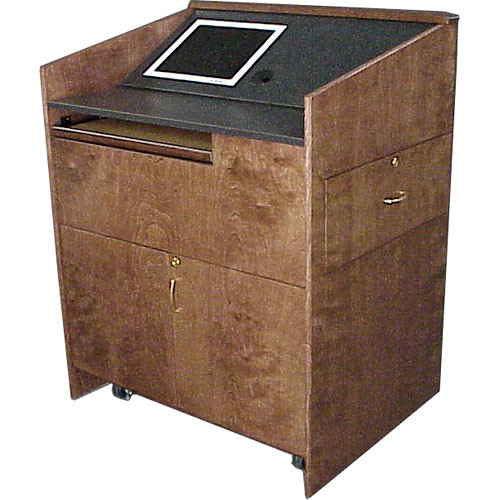 BEI Audio Visual Products Split Work Surface for the Multi-Media Lectern