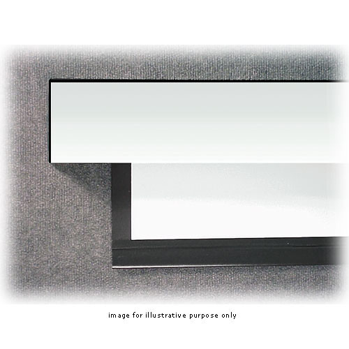 """BEI Audio Visual Products Laminar XL Motorized Front Projection Screen-108x108""""Matte White"""