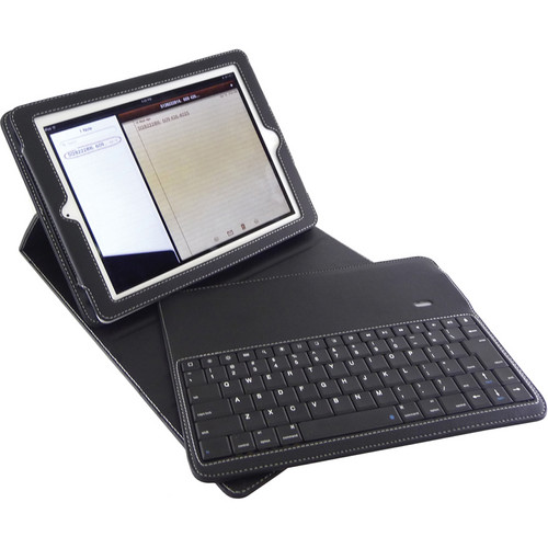 Blurex D-lux Leather Case with Keyboard for iPad 2 & new iPad