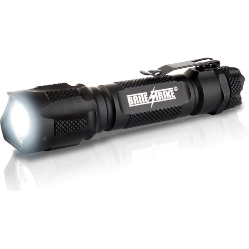 Brite-Strike Blue-Dot Rechargeable Hi/Lo/Strobe Flashlight