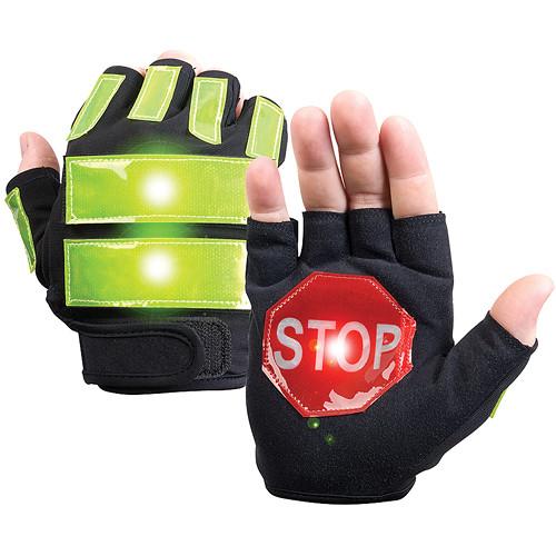 Brite-Strike Traffic Safety Gloves Large