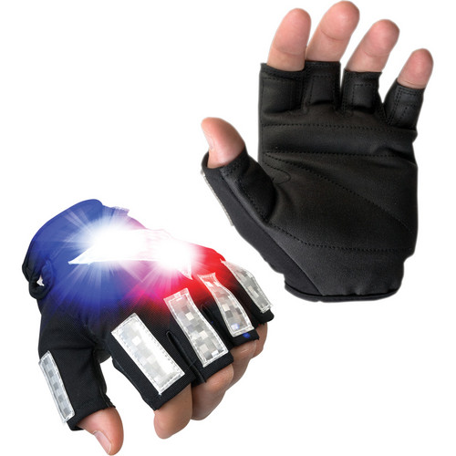 Brite-Strike Police Cycle Gloves Medium