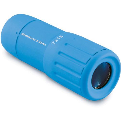 Brunton 7x18 Echo Pocket Scope Monocular (Blue)