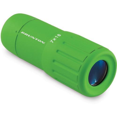 Brunton 7x18 Echo Pocket Scope Monocular (Green)