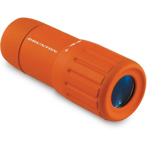 Brunton 7x18 Echo Pocket Scope Monocular (Orange)