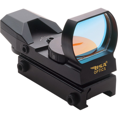 BSA Optics PMRGS Panoramic Sight with Green Dot Reticles