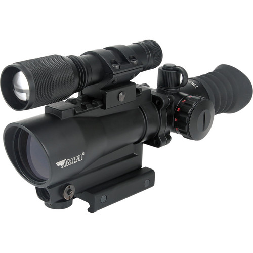 BSA Optics 30mm Red Dot Tactical Sight