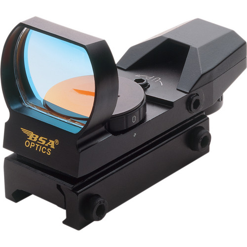 BSA Optics PMRSCP Multi-Reticle Sight (Clamshell Packaging)