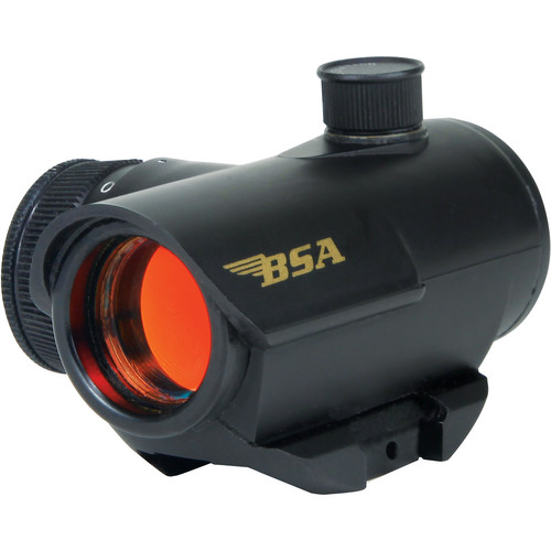 BSA Optics 20mm Illuminated Red Dot Multi-Purpose Sight (Clamshell)