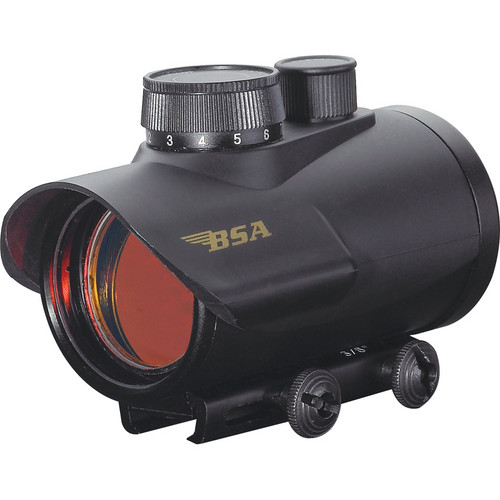 BSA Optics 42mm Illuminated Red Dot Multi-Purpose Sight (Clamshell)
