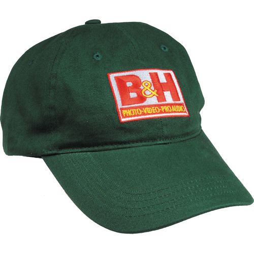 B&H Photo Video Logo Baseball Cap (Green)