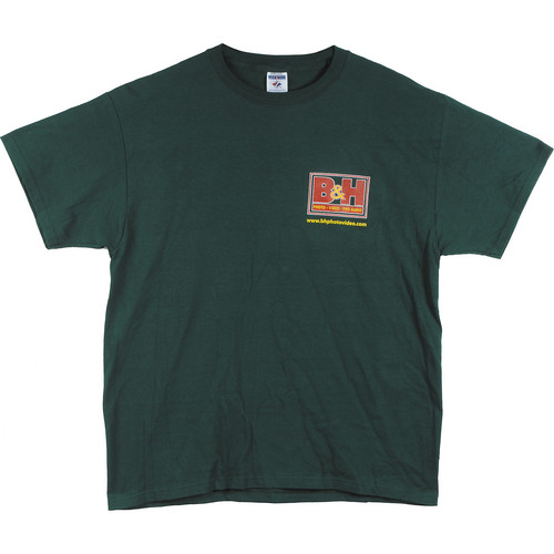 B&H Photo Video Logo T-Shirt (Medium, Green)