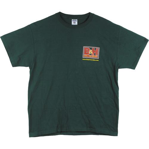 B&H Photo Video Logo T-Shirt (X-Large, Green)