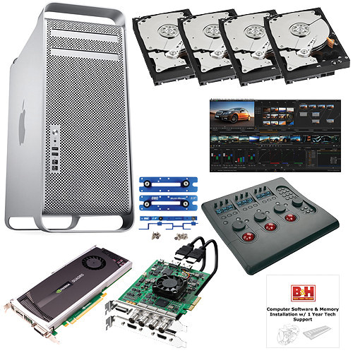 B&H Photo Mac Pro Workstation Blackmagic Design DaVinci Resolve/Mac Pro Turnkey System