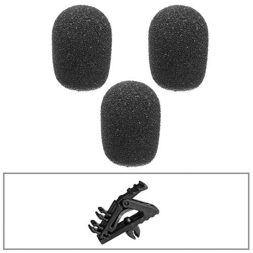 "B&H Photo Video Lavalier Accessory Backup Kit - Medium (1/4"") (6mm)"