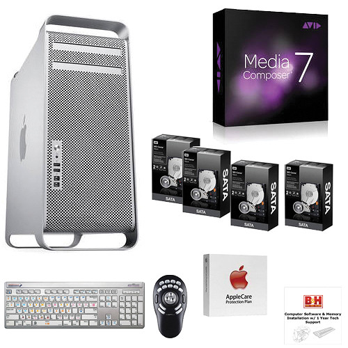 B&H Photo Mac Pro Workstation Turnkey System with Apple Mac Pro, Media Composer 7.0 and ShuttlePRO v2