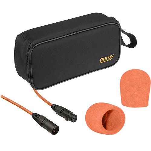 B&H Photo Video Performance Microphone Windscreen & XLR Cable ID Kit (Orange)