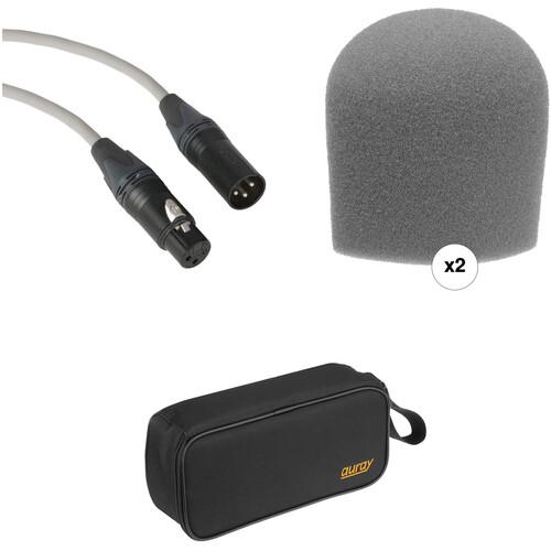 B&H Photo Video Performance Microphone Windscreen & XLR Cable ID Kit (Gray)